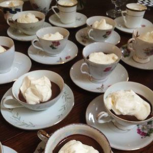 chocolate mouse teacups